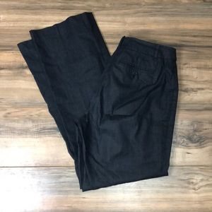 Loft Julie fit dress slacks sz 8 gray